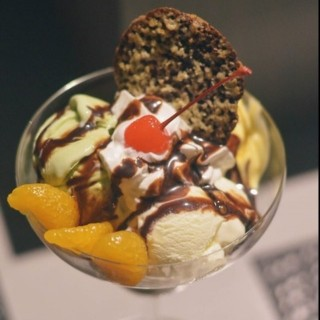 Ice cream parfait. - Wack-Wack's Akira, The Art of Sushi and Teppanyaki (Wack-Wack)|Metro Manila