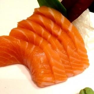 Salmon Sashimi - E. Rodriguez's Omakase Japanese Cuisine (E. Rodriguez)|Metro Manila