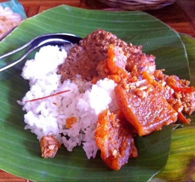 Nasi Gudeg -  dari Gudeg Yu Djum di Yogyakarta Tengah |Jawa - Yogyakarta