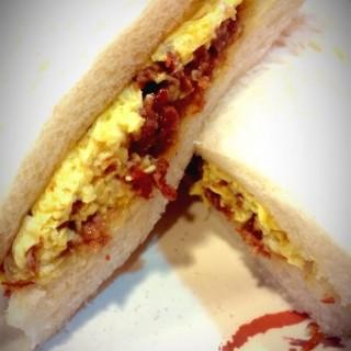 咸牛肉蛋三文治 - 位於元朗的好朋友廚師 (元朗) | 香港