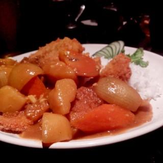 chicken katsu with curry rice - Dago Pakar (Dago Atas)'s Takigawa (Dago Pakar (Dago Atas))|Bandung