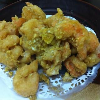 黃金蝦,多咸蛋,正,encore! - 位於深水埗的上海萬家村小館 (深水埗) | 香港