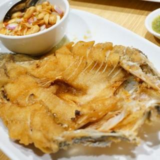 ปลากะพงทอดน้ำปลา - Lum Phi Ni's Savoey (Lum Phi Ni)|Bangkok