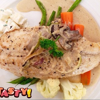 Grilled Fish in Cream Sauce - Tanjong Pagar's The Hot Kitchen by Gastrolicious (Tanjong Pagar)|Singapore