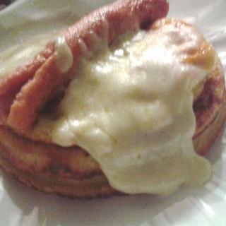 Pancake Sausage and Egg with Cheese - Denpasar's Obrigado (Denpasar)|Bali