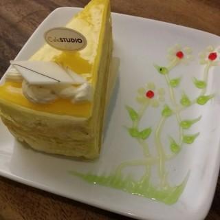 Mango Mille Crepe cake - Kota Damansara's Cafe Studio (Kota Damansara)|Klang Valley