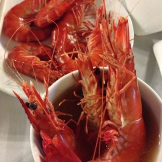 Drunken Prawn in Herbal Soup - Clementi's Chin Huat Live Seafood (Clementi) Singapore