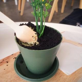 Matcha mud tart  -  Upp Changi / fArt tArtz Cafe (Upp Changi)|Singapore
