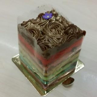 Chocolate Rainbow Cake -  Bukit Merah / The Bakery Chef (Bukit Merah)|Singapore