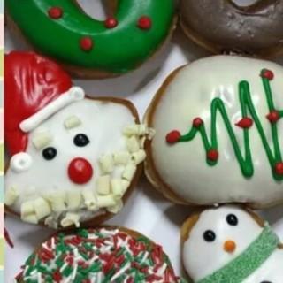 assorted holiday doughnuts - Mandaluyong's Krispy Kreme (Mandaluyong)|Metro Manila