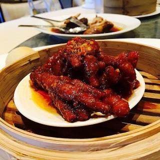 Steamed Chicken Feet with XO sauce -  dari Lung Hin (Pasig) di Pasig |Metro Manila