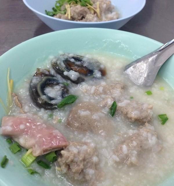 โจ๊ก เครื่องใน หมูสับ ไข่เยี่ยวม้า - โจ๊กสามย่าน - Casaul Dining - Wang Mai - Bangkok