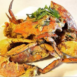 Salted Eggs Crab - ในBugis จากร้าน名堂烤全魚 (Bugis)|สิงคโปร์