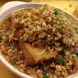 Homemade Tofu with Preserved radish -  Macpherson / 一家南村海鲜 (Macpherson)|Singapore