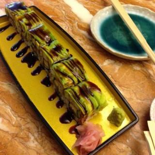 Eel and Avocado Roll -  dari Isogi by Kai (Dasmariñas ) di Dasmariñas  |Metro Manila