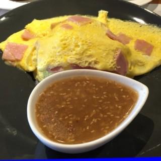 ข้าวไข่คนแฮม - 位於的Bake a Wish (บางปะกอก) | 曼谷