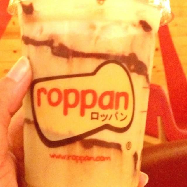 chocolate hazelnut tea  - 位於Tangerang Kota的Roppan | Bakery & Cake - 雅加達