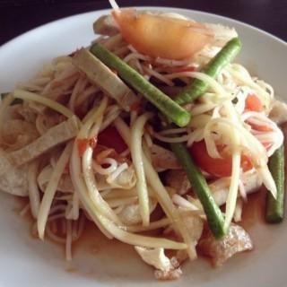 ตำไทย -  dari Somtam Nua (ปทุมวัน) di ปทุมวัน |Bangkok