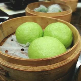 低糖綠茶流沙包 - 位于九龙城的譚點王朝 (九龙城) | 香港