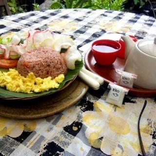 Nasi Goreng Kampung & Jasmine Tea -  dari Kedai Teko (Cimbeuluit) di Cimbeuluit |Bandung