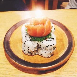 Sushi birthday cake -  Kelapa Gading / Sushi Tei (Kelapa Gading)|Jakarta
