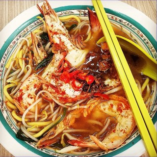 Jumbo Prawn Noodles - 位于美芝路的Blanco Court Prawn Mee (美芝路) | 新加坡