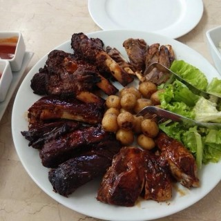 All Meat Barbecue Platter - New Manila's Uncle Cheffy (New Manila)|Metro Manila