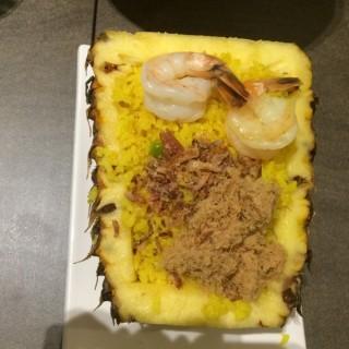Pineapple fried rice -  Sengkang / BALIthai (Sengkang)|Singapore