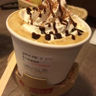 摩卡奇諾 -  dari Coffee Plus (土城區) di 土城區 |New Taipei / Keelung