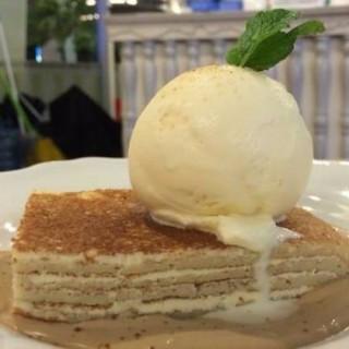 pancake tiramisu - 位于Riau的Nanny's Pavillon (Riau) | 万隆