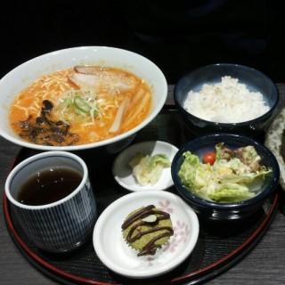small ramen with katsu and rice set(katsu not in pic) -  dari Hokkaido Ramen Santouka (Libis) di Libis |Metro Manila