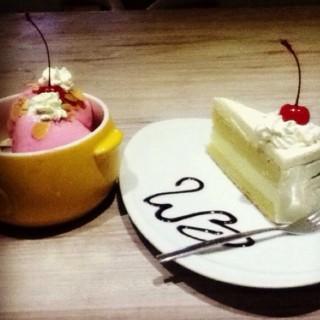 cheese cake -  dari White Box Bistro (Kuningan) di Kuningan |Jakarta