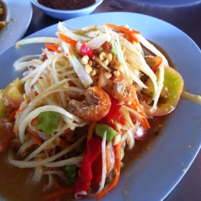 ส้มตำไทย - ส้มตำป้ามล - Northeastern Thai - Sattahip - Chonburi