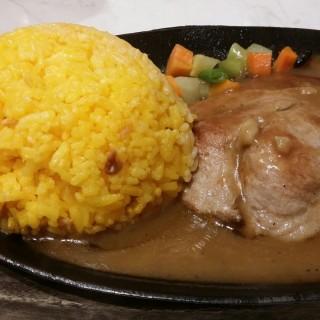Pork Steak -  dari Steak Station (North Avenue) di North Avenue |Metro Manila