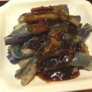 涼拌茄子 - 位於的夏麵館 (鑽石山) | 香港