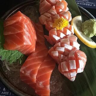 salmon toro & salmon sashimi -  อ.บางกรวย / Sushi Hiro (ซูชิ ฮิโระ) (อ.บางกรวย) กรุงเทพและปริมลฑล