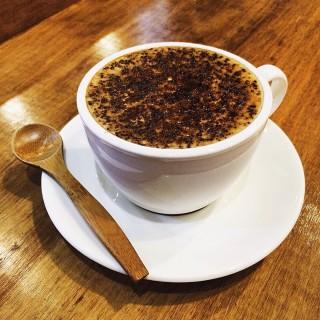 黑糖拿鐵 -  dari Peter Better Cafe (新莊區) di 新莊區 |New Taipei / Keelung