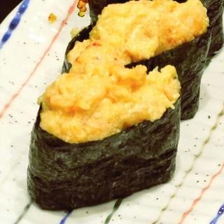 Sea Urchin Gunkan - ในThamrin จากร้านItacho Sushi (Thamrin)|Jakarta