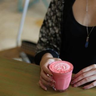 Pink Velvet Latte - Pasirkaliki's Three Bears (Pasirkaliki)|Bandung