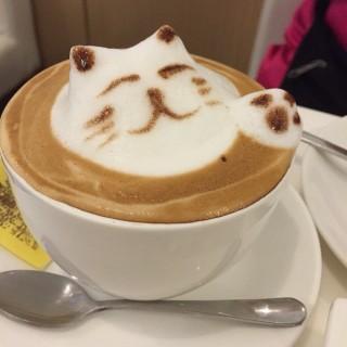 Cappuccino -  dari D'light Dessert Cafe (沙梨頭) di 沙梨頭 |Macau