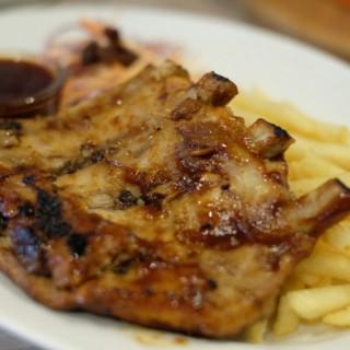 hickory bbq baby back ribs -  dari The Twig Cafe (Pantai Indah Kapuk) di Pantai Indah Kapuk |Jakarta