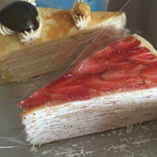 strawberry mille crepe cake - 's Nadeje (Kota Damansara)|Klang Valley