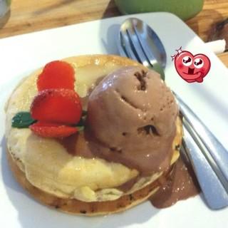Pancake with ice cream -  dari Pancake's Company (Yogyakarta Tengah) di Yogyakarta Tengah |Yogyakarta