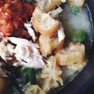 Bubur Ayam -  dari Bubur Ayam Acong (Jakarta Selatan) di Jakarta Selatan |Jakarta