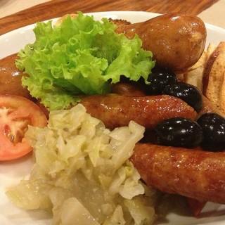 German Sausage Platter - Makati's Poco Deli (Makati)|Metro Manila