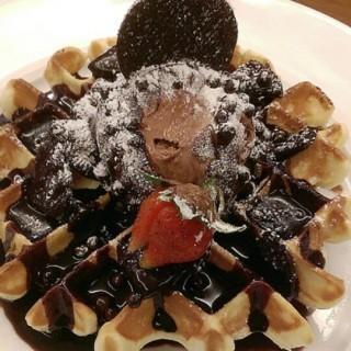 Chocolate Waffle - West Surabaya's Daily Sweet (West Surabaya)|Surabaya
