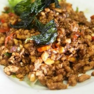 basil chicken - ในKelapa Gading จากร้านSip Ha Thai BBQ & Bistro (Kelapa Gading)|Jakarta
