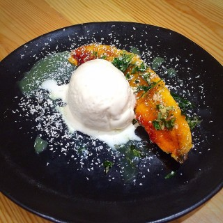 Caramelized Banana with Vanilla Ice Cream - Ortigas's Ooma Japanese Rice Bar (Ortigas)|Metro Manila