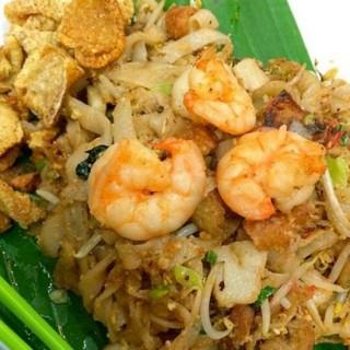 kwetiau goreng seafood chasiu - Muara Karang's Kwetiau Akang (Muara Karang)|Jakarta