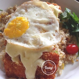 Chicken Baked Rice - Central Bandung's Two Cents Coffee (Central Bandung)|Bandung